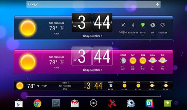 HD-Widgets