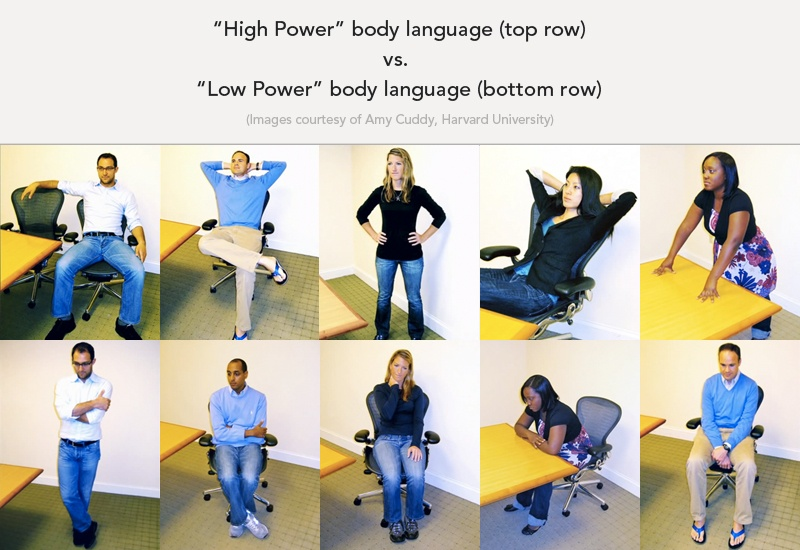 high power poses