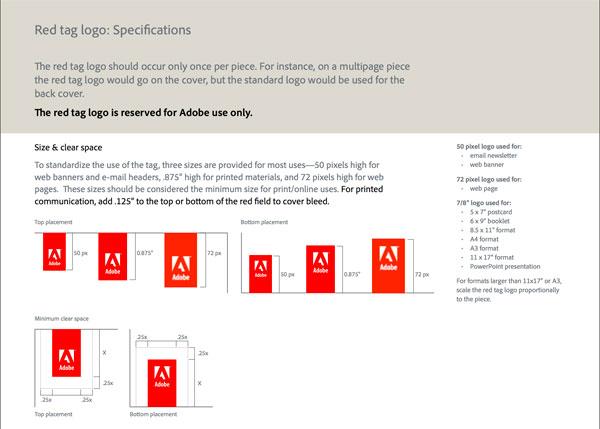 Брендбук Adobe