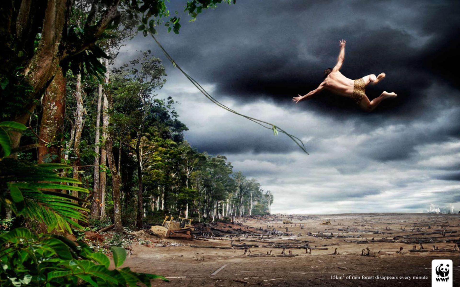 Креативная реклама от Всемирного фонда дикой природы