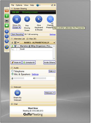Общий экран и аудио
