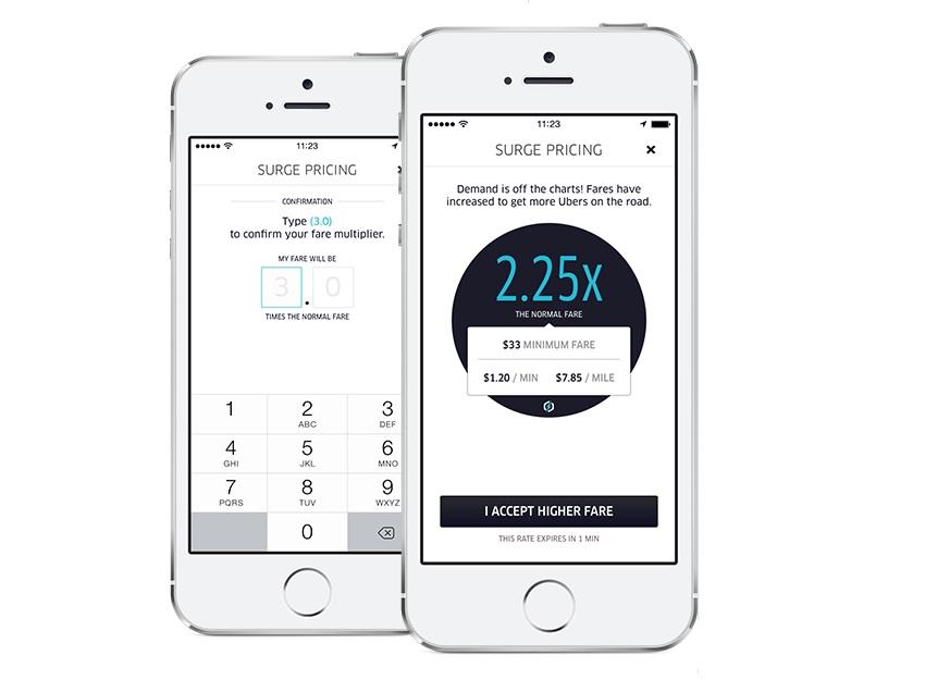 Повышающий коэффициент Uber — целое число? Подозрительно!