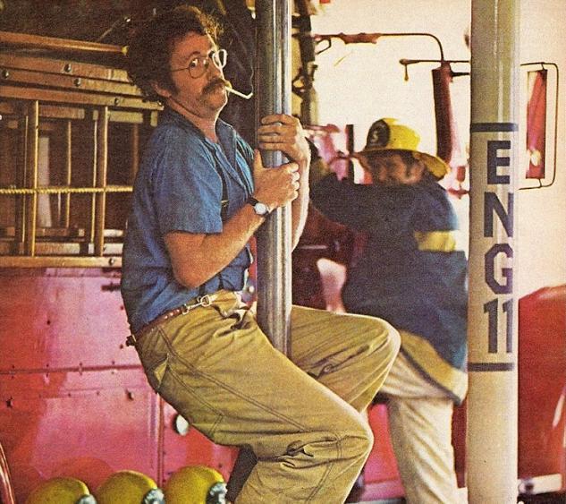 Иллюстрация к статье: История изобретения пожарного шеста