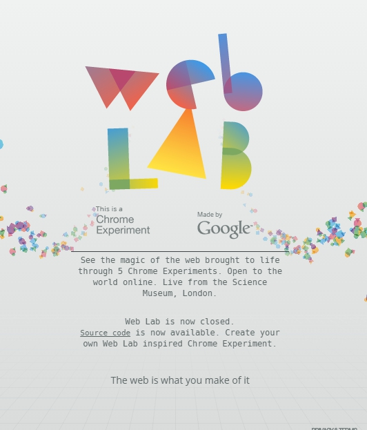 41. Chrome Web Lab