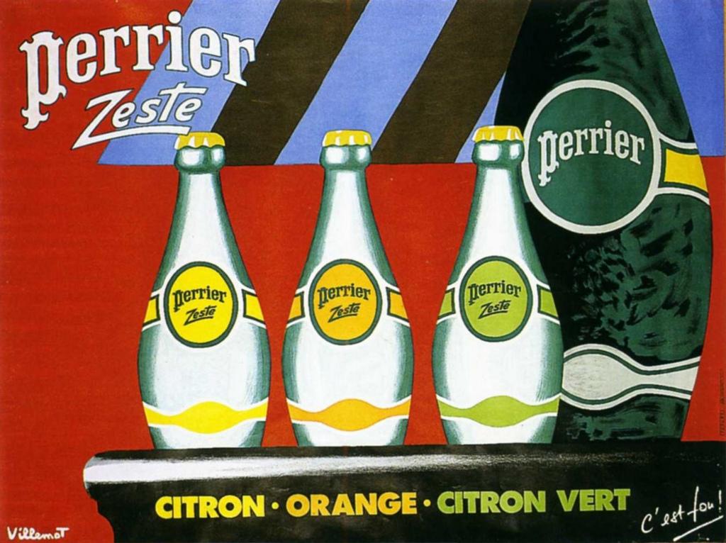 Иллюстрация к статье: Маркетинговая кампания Perrier, убедившая американцев платить за воду