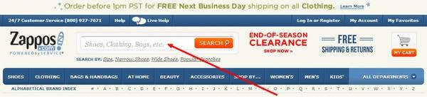 Проверьте это: микротекст в строке поиска по сайту