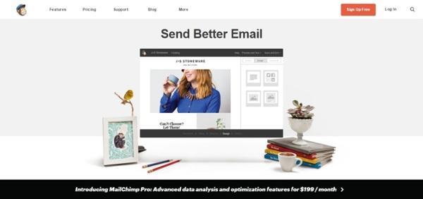 2. MailChimp