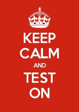 продолжайте тестировать