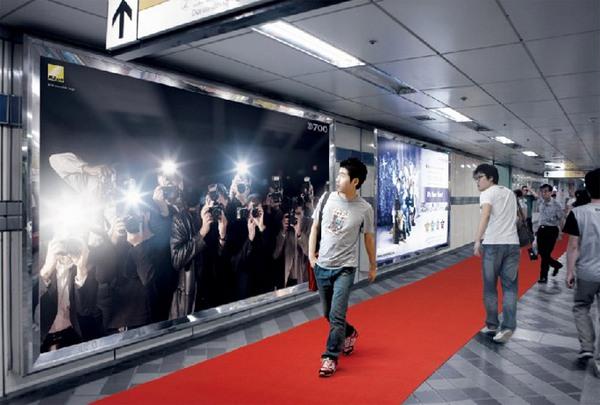 рекламный щит для фотоаппарата Nikon D700