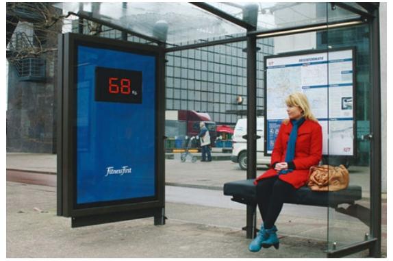Вес пассажира, присевшего на скамейку в ожидании автобуса, становится известен всем окружающим