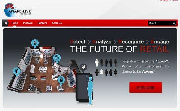Слоган Aware-Live Technologies буквально призывает «Дерзни!»