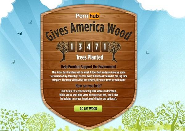 «PornHub дает Америке лес»
