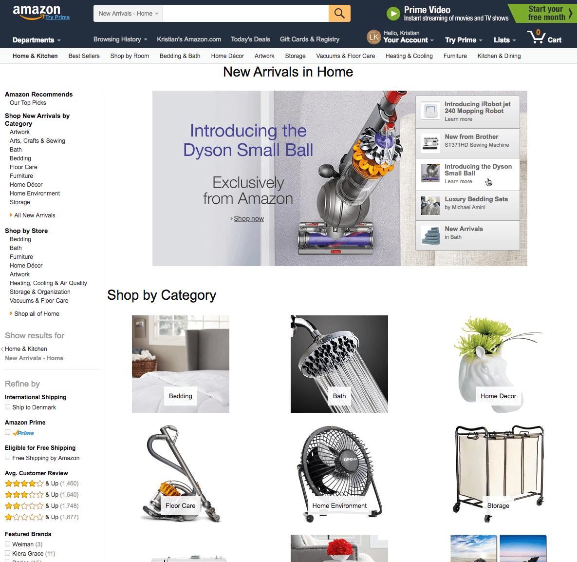 магазина Amazon