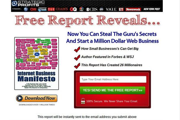 Как украсть секреты гуру и начать веб-бизнес на миллион долларов? Как малый бизнес сделать большим?