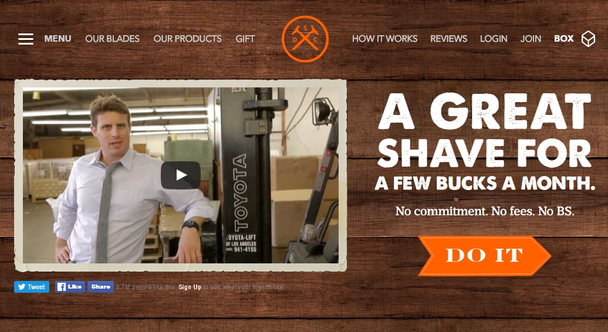 История одного стартапа: The Dollar Shave Club