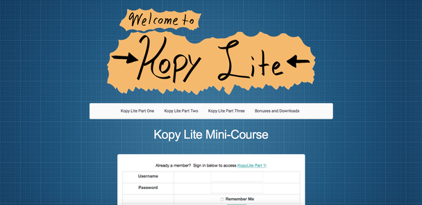 курс Kopy Lite от Невилла Медоры (Neville Medhora)