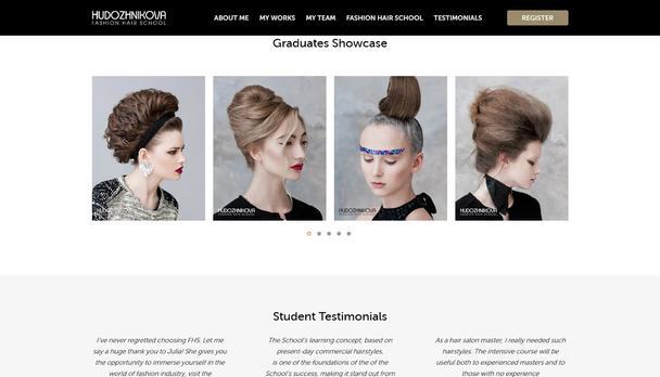 Школа моды волос Юлии Художниковой