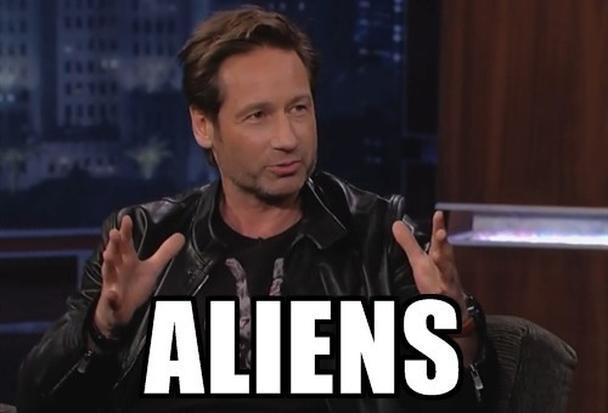 Все из-за пришельцев