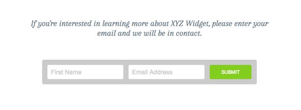 Если вы хотите узнать больше о виджете XYZ, пожалуйста, оставьте ваш email и мы будем поддерживать с вами связь