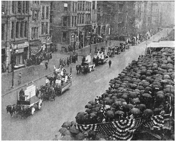 «Парад статистических графиков» в 1913 году