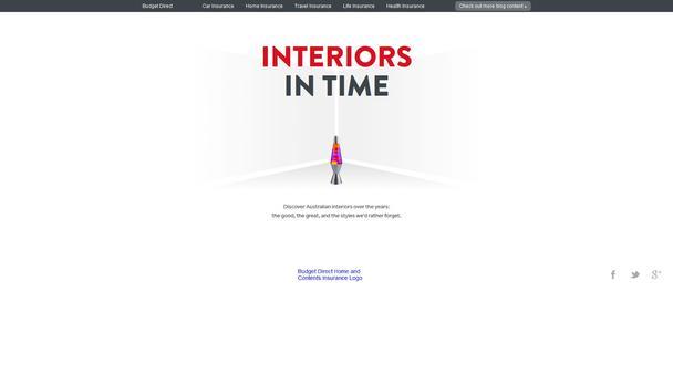 обзор сравнением двух сайтов, рассказывающих о десятилетиях истории развития дизайна интерьеров