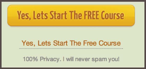 Да, давай начнем бесплатный курс. 100% приватность. Я никогда не буду спамить тебе!