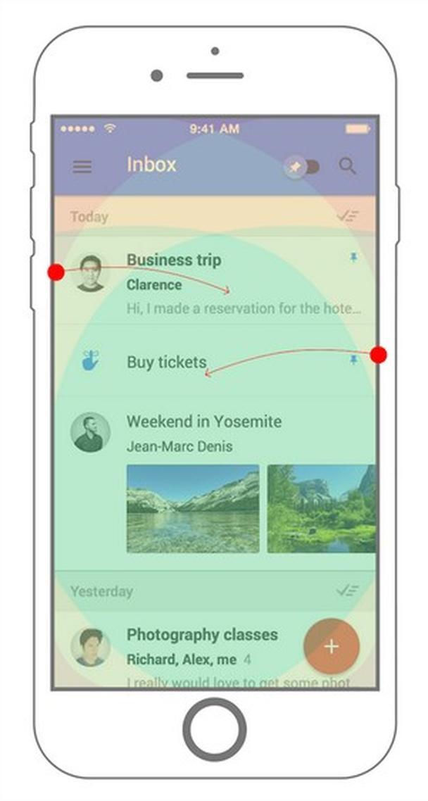 приложение входящей почты от Google