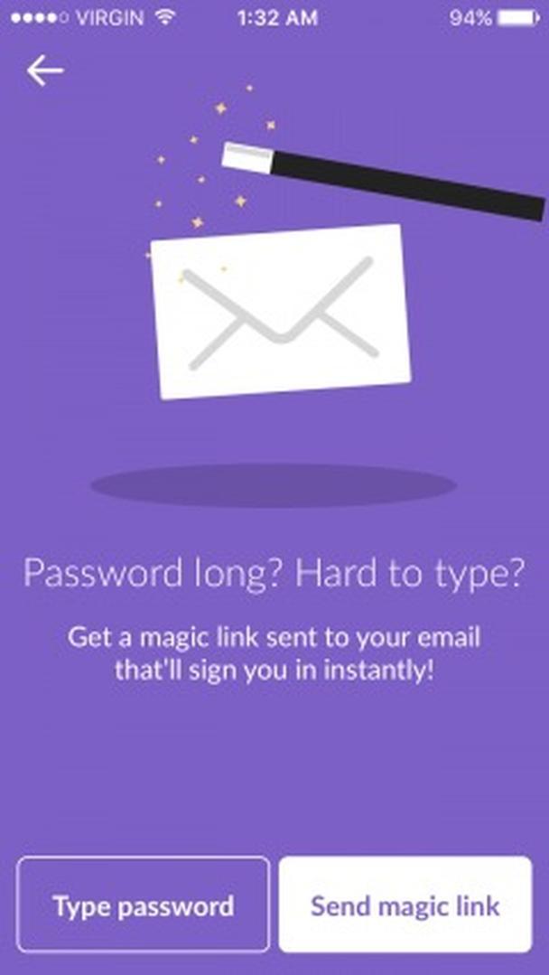 Длинный пароль? Трудно набирать?