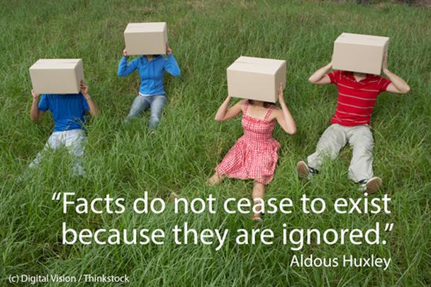 «Факты не перестают существовать от того, что ими пренебрегают» (Олдос Хаксли)