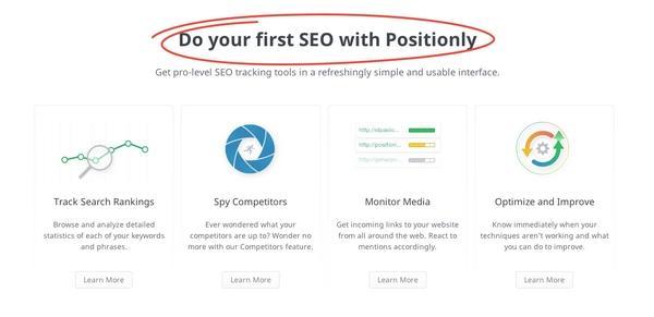 Проведите свою первую поисковую оптимизацию вместе с Positionly