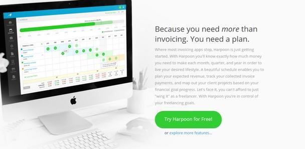 Harpoonapp: учет для фриланса
