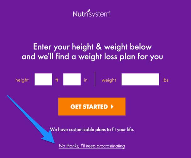 Введите ваш рост и вес, и мы подберем вам диету Нет, спасибо, я буду прокрастинировать и дальше
