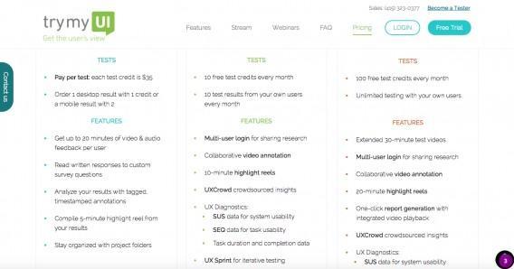 Пример использования сервиса TryMyUI Stream для поиска UX-проблем