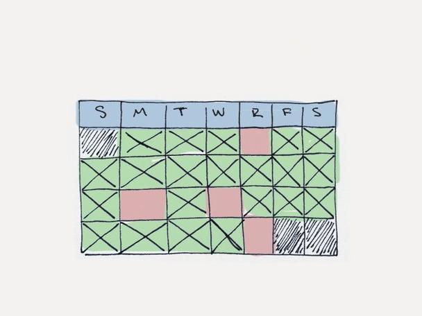 Подчините мотивацию своему расписанию