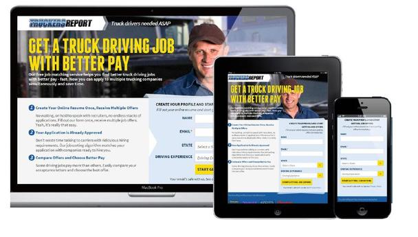 Получите работу водителя грузовика с лучшей оплатой