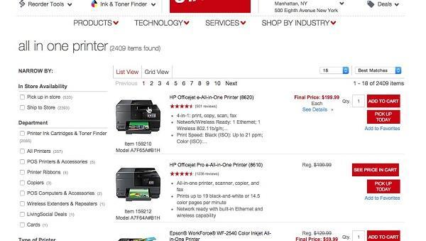 В данном примере неясно, какие именно ссылки ведут на страницу с описанием продукта