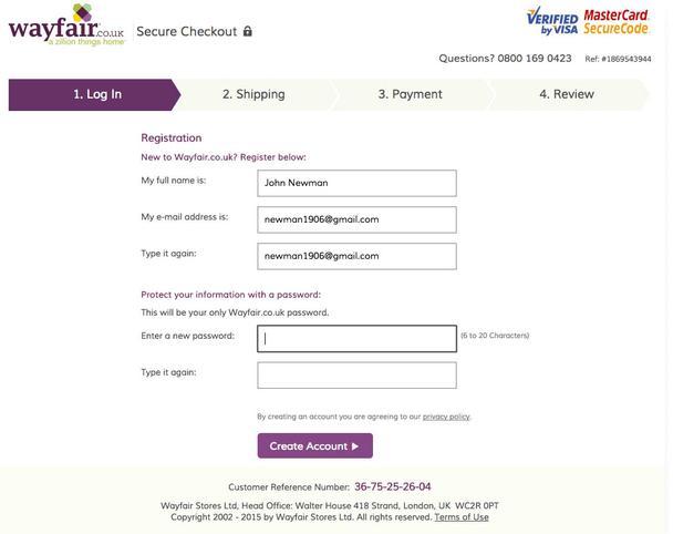 Создание паролей на сайтах eCommerce