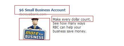 Рекламное объявление RBC Royal Bank
