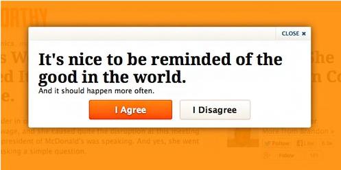 Хорошо, когда вам напоминают о добре в этом мире. И это должно случаться чаще. Я согласен / Я не согласен