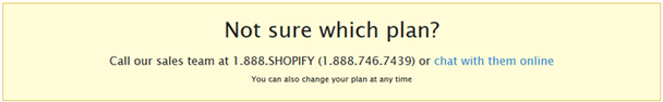 Попробуйте поместить ваш номер телефона в какое-нибудь заметное место вроде хедера, как это сделали в Shopify