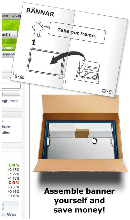 Типичное предложение от Ikea в стиле «Собери сам», но на этот раз в онлайн-среде