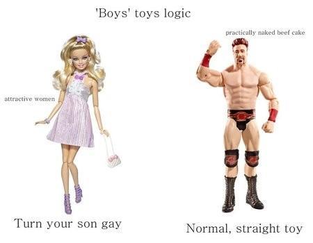 Логика производителей игрушек «для мальчиков»