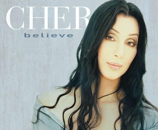 Обложка сингла Cher «Believe»