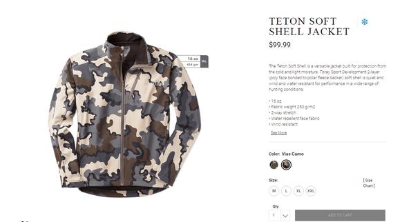 Магазин товаров и одежды для охотников Kuiu