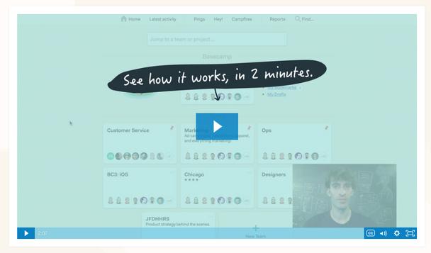 Пример видео «Узнайте, как это работает, за 2 минуты».