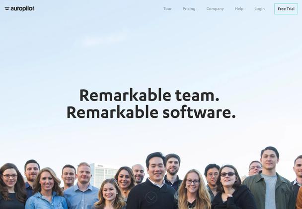 Фотографии команды и реальных пользователей (ниже).