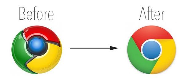 До и после: Гугл — признанный законодатель моды в интернете.