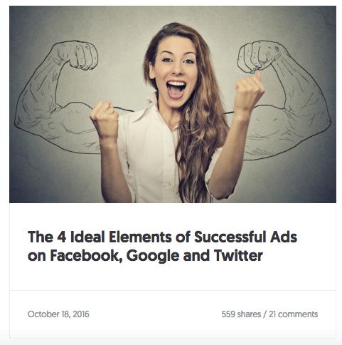 4 идеальных элемента успешной рекламы в Facebook, Google и Twitter