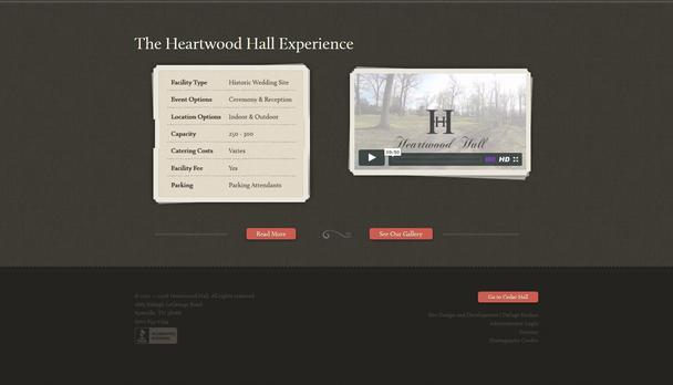 Свадебная аренда помещений Heartwood Hall