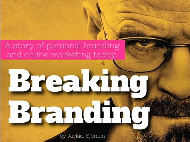 «История персонального брендинга и онлайн-маркетинга сегодня»